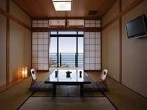 【平日限定】1泊朝食と海を一望できる貸切露天風呂付きプラン~ひとり旅、ビジネスにもオススメ~