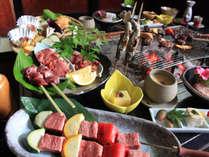 白山麓三種の肉の味くらべイメージ