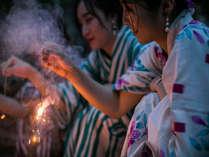 花火広場時間:日没後~21時まで。花火は持参ください。