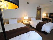 ◆ツインルーム◆26平米※自社オリジナルベッド&デュベ(羽毛布団)採用