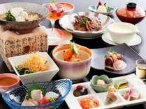 加賀創作料理sabroso『彩』季節の美味しさを楽しめる人気会席です。