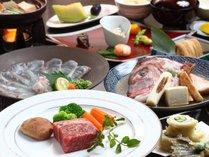 ★A5ランク以上の伊予牛やブランド牛のステーキをご提供。