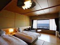 海の見える 和ベッドルーム【ハイスタンダード】2名様専用 禁煙ルーム