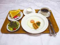 *【朝食/一例】ご朝食はチェックイン時にお選びいただけます。(写真は洋食)