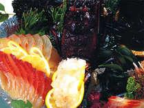 当館のお料理は壱岐ならではの食材をたっぷり使用しております。