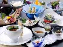 【1泊2食付】季節の地産会席料理付 宿泊プラン
