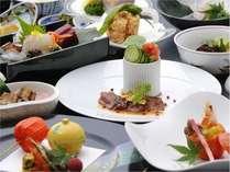 【1泊2食付】ワンランク上の地産会席料理「高島のめぐみ会席」付 宿泊プラン