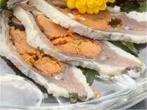 【ふるさと割】で最大半額 湖国の名産「ふな寿司」試食付☆季節の地産会席料理 夕・朝食付