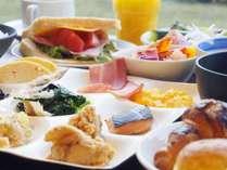 1日の始まりはおいしい朝食から。手作りの味をお楽しみください