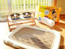 *ペットシート・給水器・給餌器 ・除菌/消臭スプレー・キッチンタオルなど自由にご利用下さい。