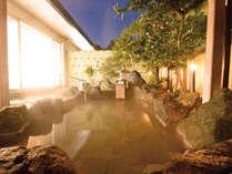 *泉質はやわらかで、よく温まると喜ばれる、ナトリウム・カルシウム塩化物泉。