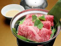【銀せいろ蒸し付・有馬四季菜ブッフェ】豊かな味わいの神戸牛を銀せいろ蒸しで。