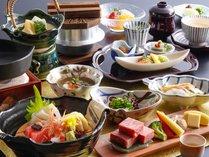 【神戸牛付】季節の美味食材をふんだんに使用した特選会席。※イメージ