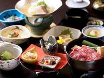 季節の味覚を伝統の技で仕上げた会席料理