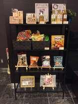 1階ロビーにて三重のお土産品やラーメン、お菓子等販売しています。