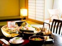 部屋食イメージ※お料理内容はプランによって異なります