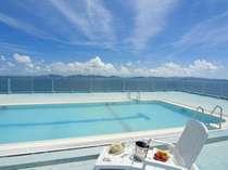7月15日オープン!オーシャンビューの『絶景屋上プール』ご宿泊のお客様はご利用無料です♪