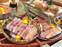【夕食バイキング】当日水揚げされた、三河湾の新鮮な海の幸をご用意!写真はイメージ