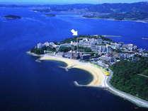西浦温泉の一番高台に位置するホテル東海園は、三河湾を360度一望する天下の絶景といわれる好立地です!