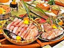 【夕食バイキングイメージ】当日水揚げされた、三河湾の新鮮な海の幸をご用意!