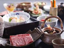 【兵庫県産和牛ご堪能】三田牛150g付☆ステーキ会席