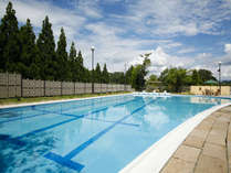 夏季限定 屋外プール