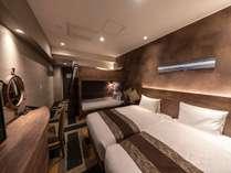 最大4名まで宿泊可能!二段ベッドが大人気の秘密基地ルーム