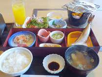 *【朝食例】しっかり栄養補給をしてお仕事や観光へいってらっしゃい!