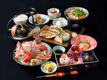 *夕食一例/選魚会席(お刺身は2人前です)