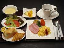 【朝食で元気】選べて嬉しい!和食OR洋食♪