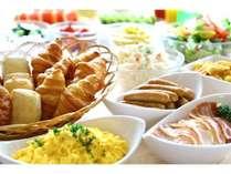朝食は毎朝6:30から営業中!(イメージ)