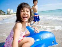 7月中旬~8月下旬海開き!ホテルから歩いて海水浴場!夏は海で笑顔になろう♪