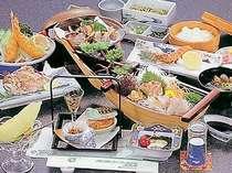 海の幸が自慢のお料理(写真は一例です)