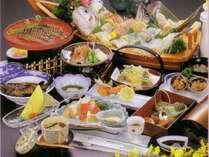 【お料理一例】海鮮活々料理プラン(季節によりお料理内容が変わります)