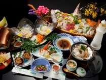 【お料理一例 龍宮城コース】季節や仕入れによりお料理内容が変更になることもございます。