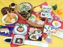 【お料理一例】季節や仕入れによりお料理内容が変更となります。