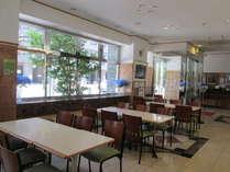フロント 朝食コーナー