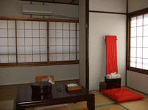 ワンちゃん、猫ちゃんと泊まれる 和室(25平米)