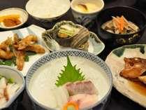 ある日の夕食~獲れたお魚でメニューが変わります~