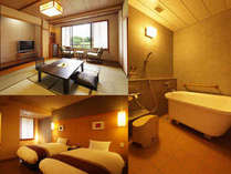 和室&ベッドルームでゆったり「海の幸旬会席プラン」を和洋室にアップグレード■ご夕食=お部屋食