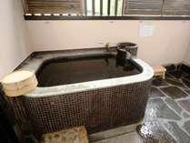 一の湯新館客室露天風呂