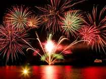 【洞爺湖ロングラン花火大会】~当館からも綺麗にご覧いただけます~