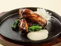 北海道産豚スペアリブの柔らか焼き~とろとろチーズとともに~