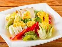 【食欲全開!盛りモリビュッフェ】夏野菜の卵餡掛け