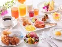 朝食盛り付け一例(イメージ)
