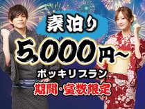 和室・素泊・2名以上入室1名あたり5000円