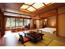 12畳+10畳の客室一例