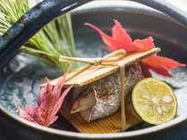【焼き物】吾妻山の清流に育まれた川魚を使った料理(一例)