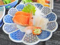 【夕食】お刺身の一例