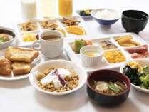 ■朝食バイキング(和洋)